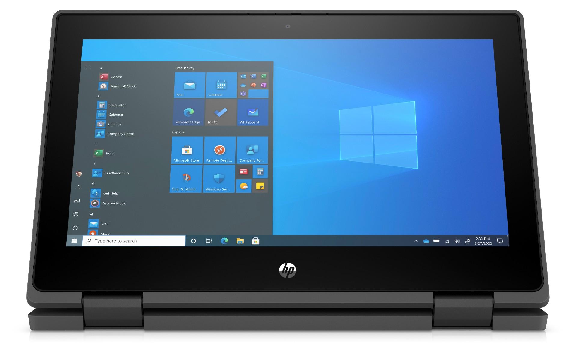 HP ProBook x360 11 G7 EE_Media Mode