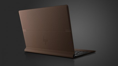 HP Spectre Folio - laptop position from behind