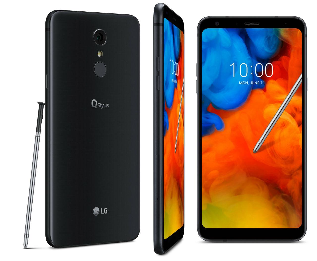 LGQStylus— представлена линейка телефонов  состилусом