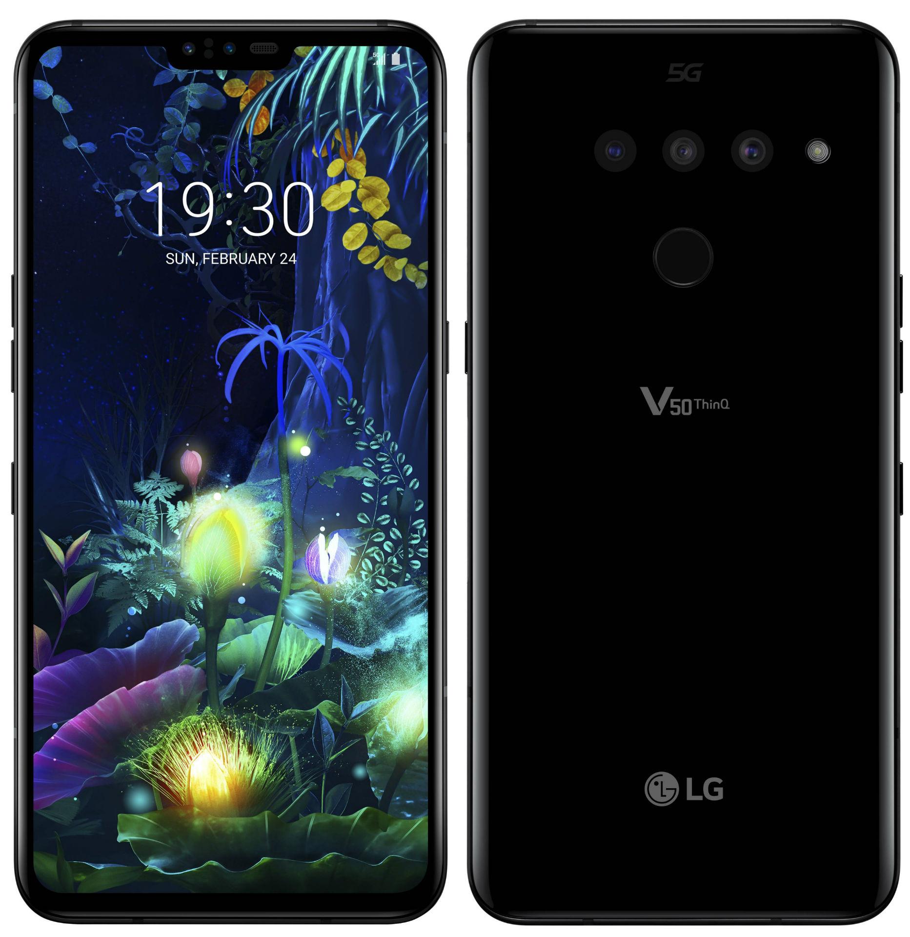 LG представила свой первый 5G смартфон – LG V50ThinQ 5G | Mobile-review.com  — Новости