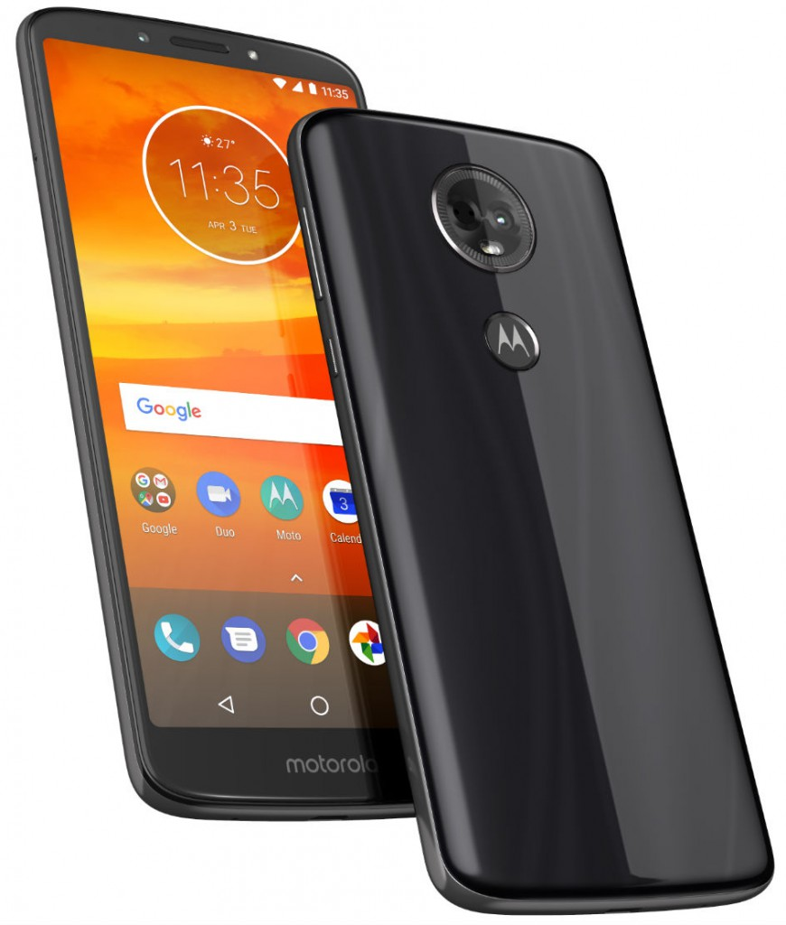 MotoE5Plus - ROW - Flash Gray - PDP Hero