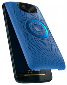 MotoZ3Play - Deep Indigo - Snapping LCS Blue Ray