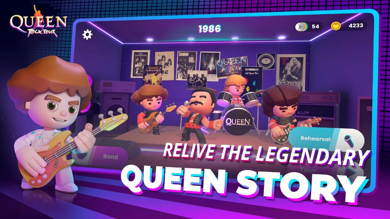 Вышла мобильная игра, посвященная рок-группе Queen