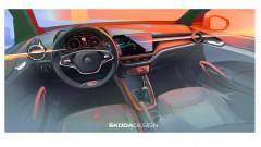 ŠKODA представляет первое изображение интерьера новой FABIA (1)