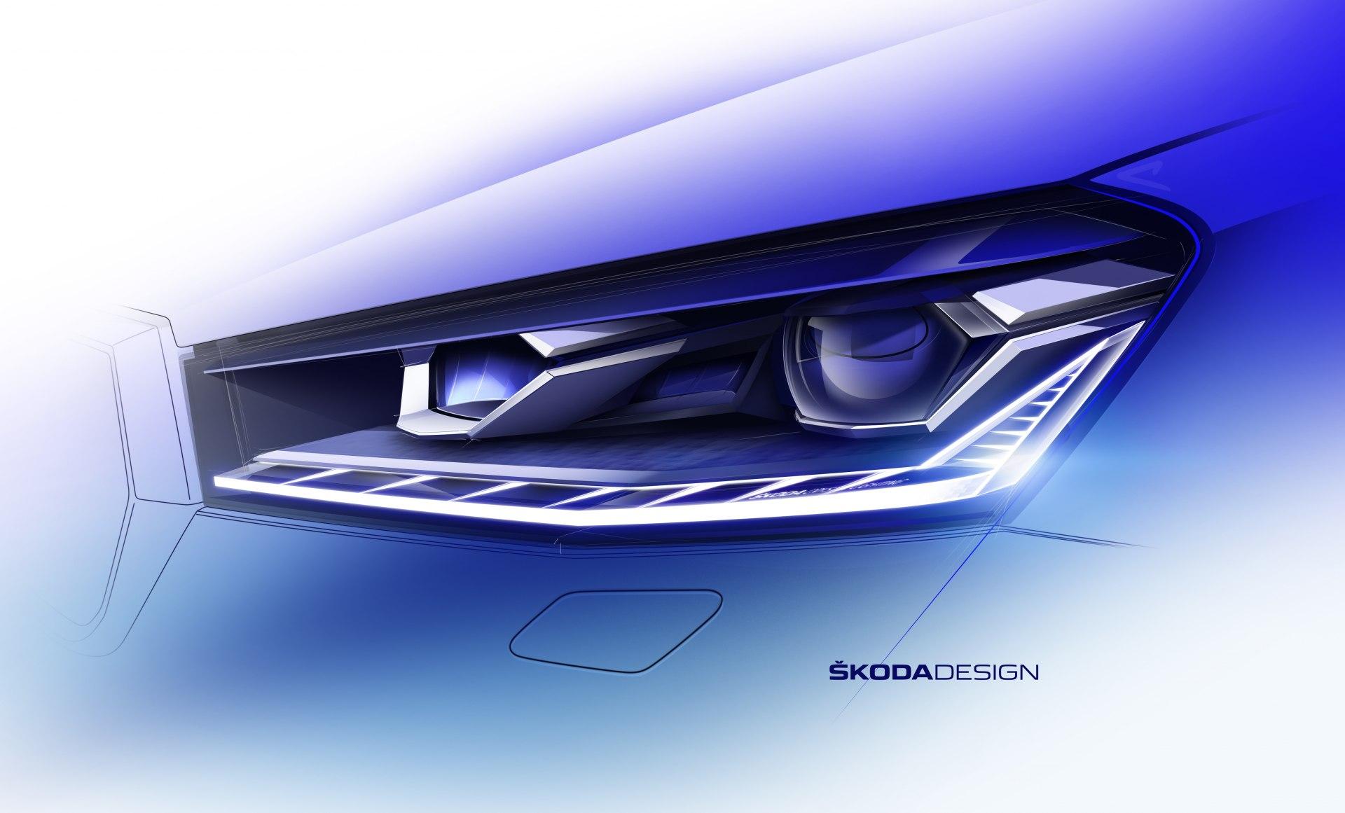 Компания Skoda показала, как будет выглядеть следующее поколение Fabia