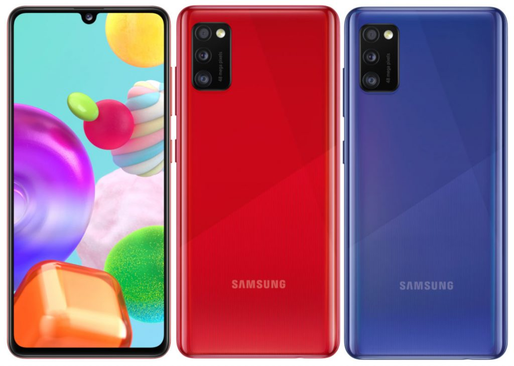 Смартфоны Samsung Galaxy A41