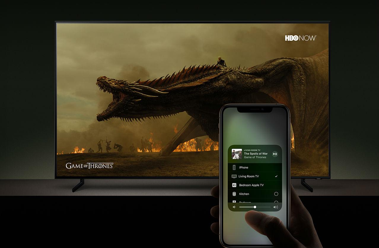 Технологии Apple приходят на«умные» телевизоры Самсунг