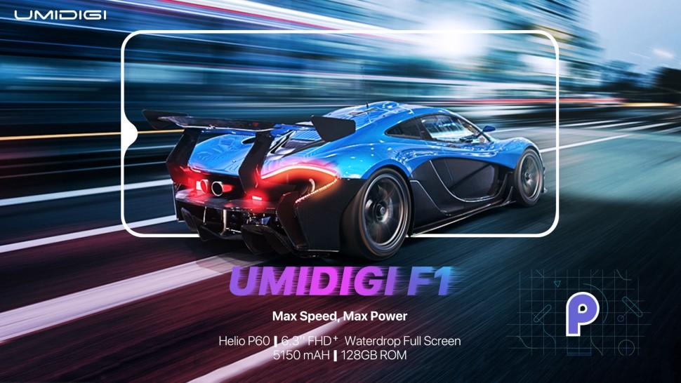UMIDIGI F1 Key Specs Leaked