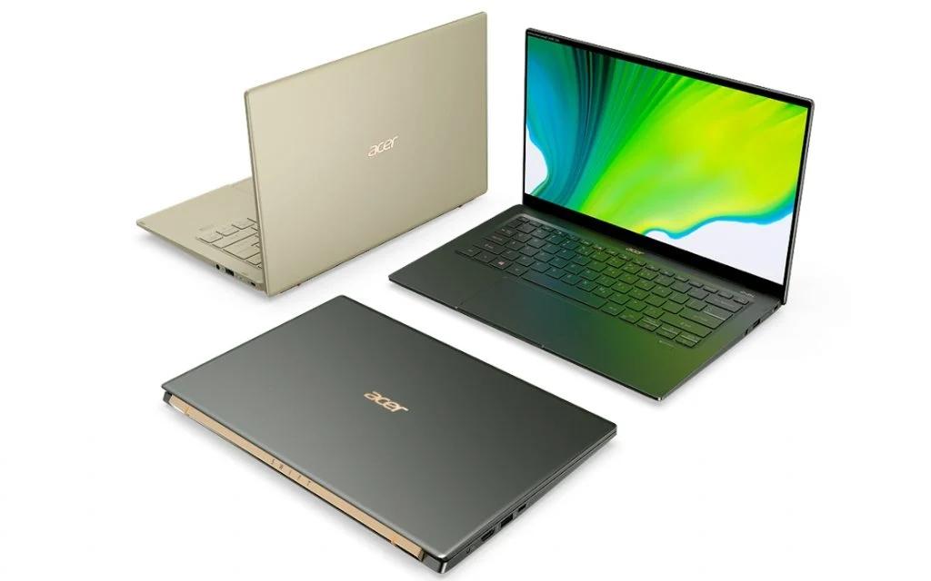 Acer представила ноутбуки Acer Swift 5 и ConceptD 3