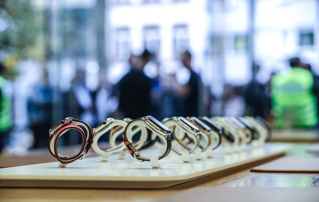 Apple Watch Series 4 © EPA-EFE/ARMANDO BABANI