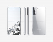 Опубликованы качественные рендеры смартфона Samsung Galaxy S21 Plus3