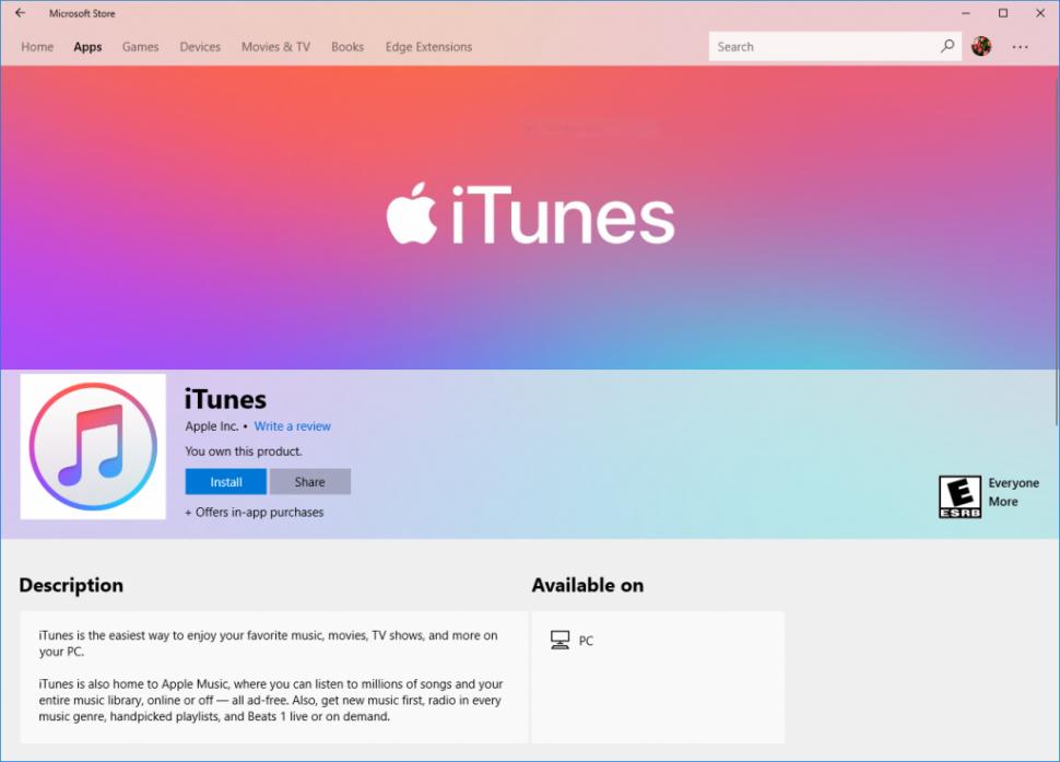 iTunesMSstore