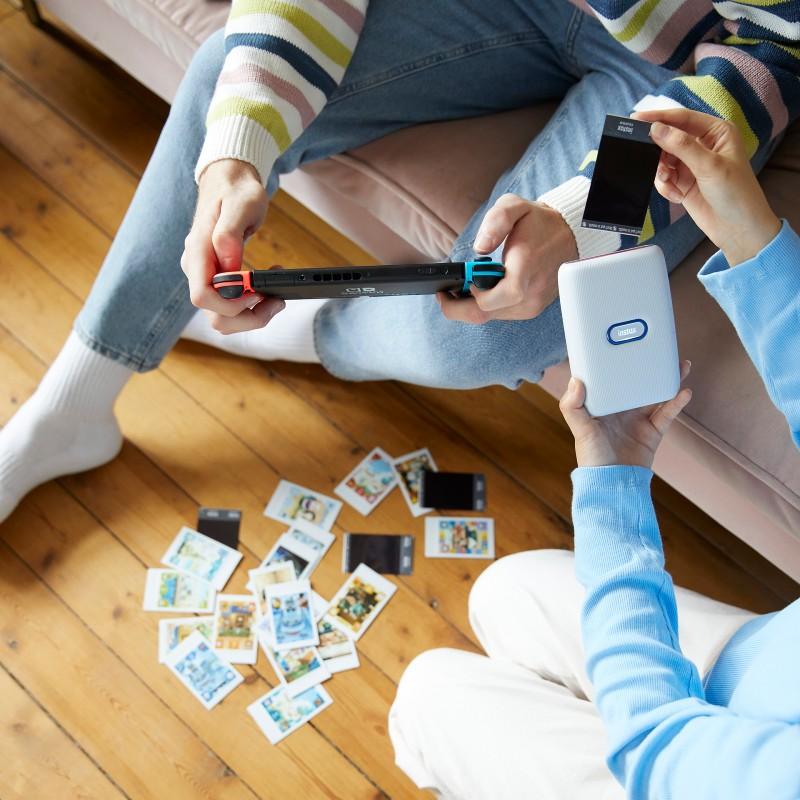 Игровая консоль Nintendo Switch подружилась с мобильным принтером Fujifilm Instax mini Link