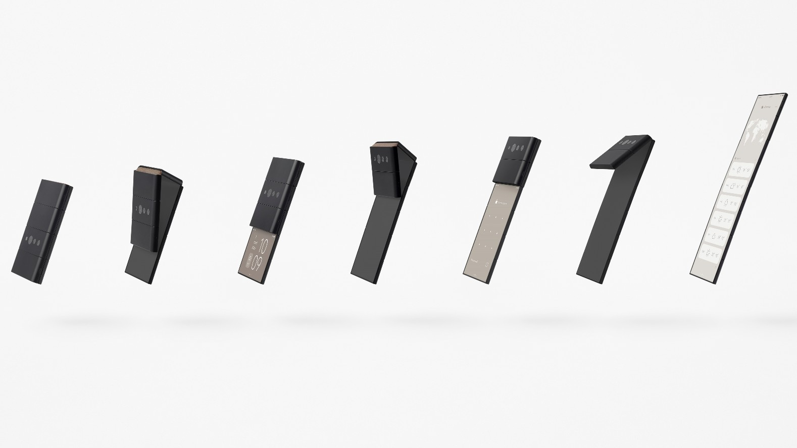 nendo conceptual design slide-phone 01