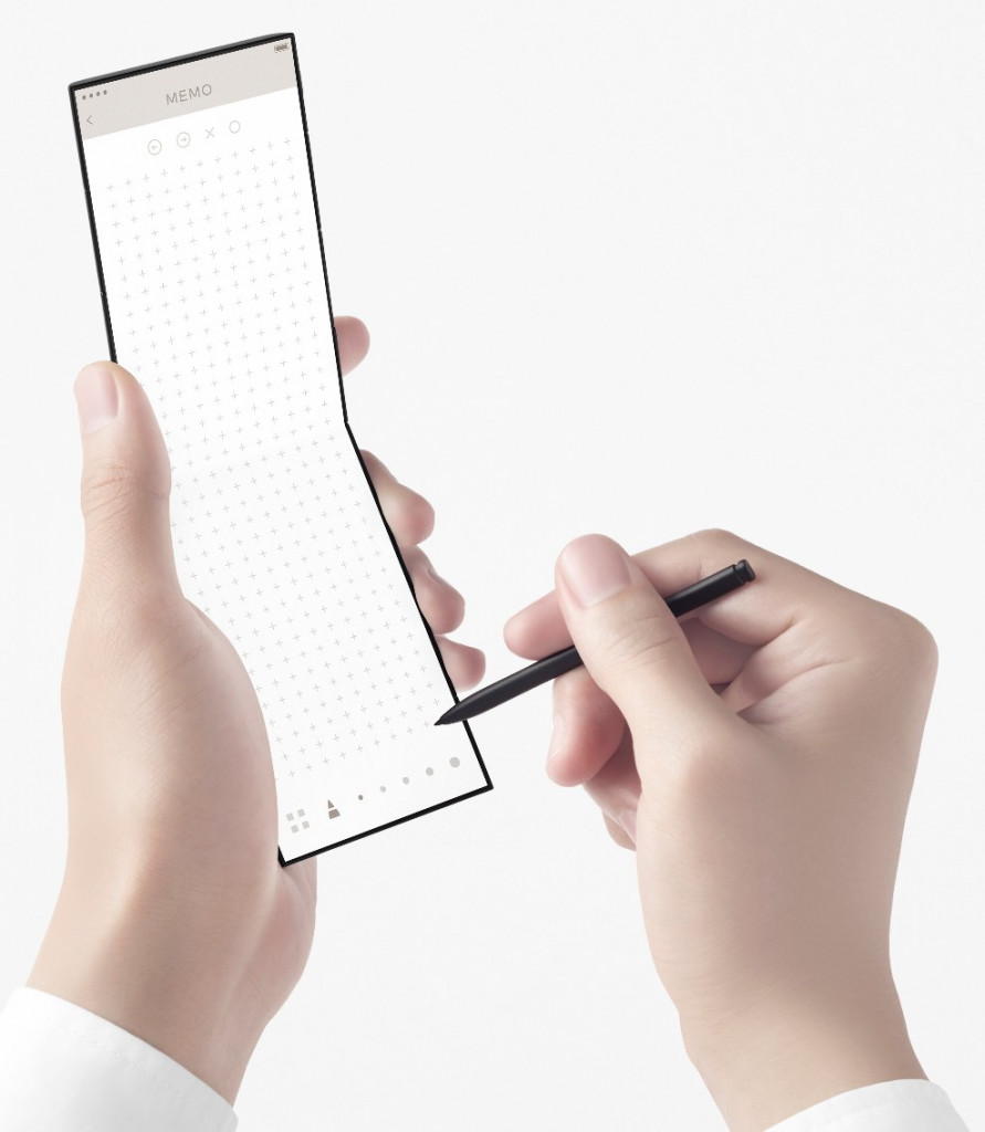 nendo conceptual design slide-phone 04