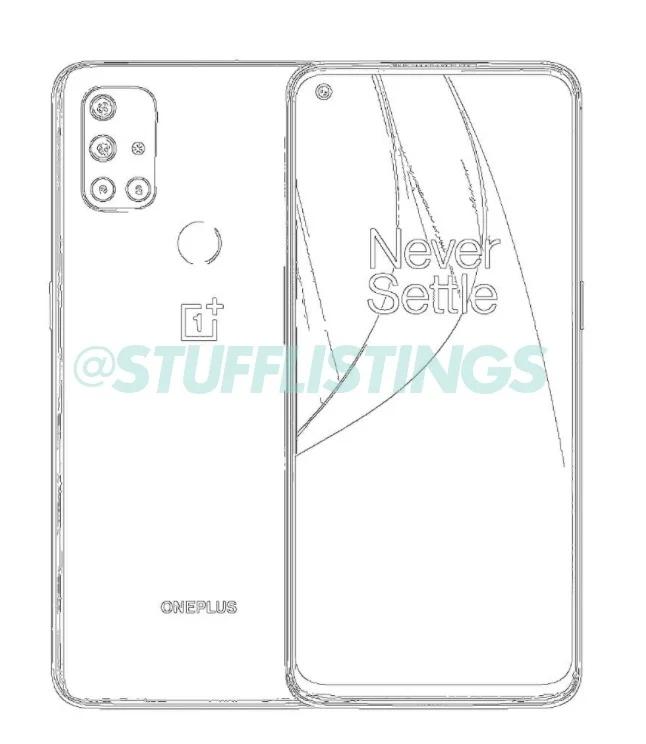 Эскиз OnePlus Nord N10 5G