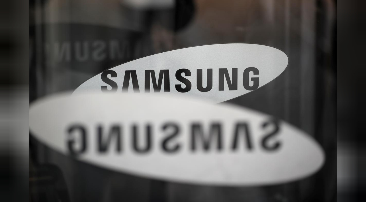The logo of Samsung Electronics REUTERS/Kim Hong-Ji