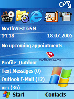 Mobile-review com Review of the operating system Windows Mobile 2003