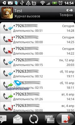 Хранение Истории Звонков Телефона Android