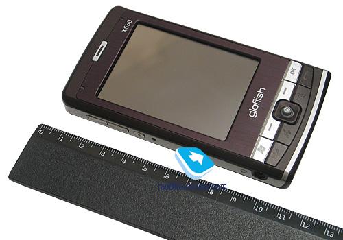 Модель, как и Glofiish X600,