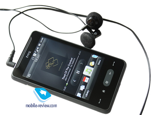 Звук в HTC HD mini меня