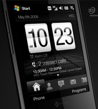 HTC Touch Diamond, �������� ���������