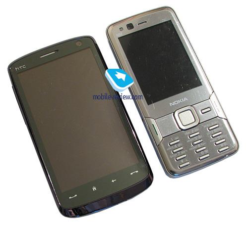 Сравнение с Samsung i900 WiTu: