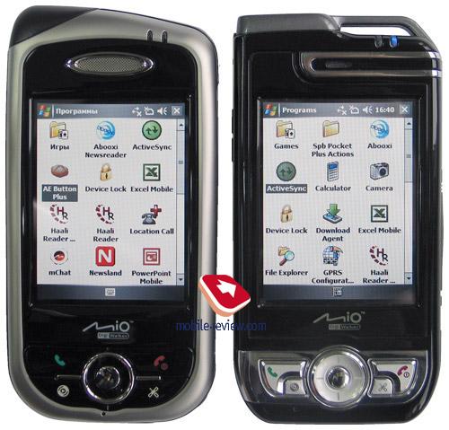 Review navigation GSM-communicator Mio A700/A701