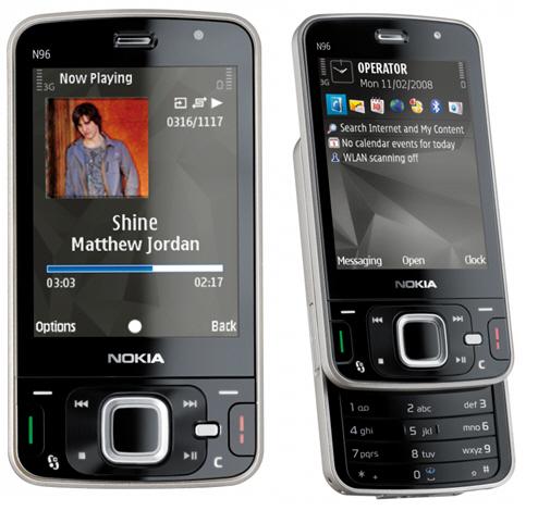 NOKIA N96 Проблема с изображением (схема шлейфа) .