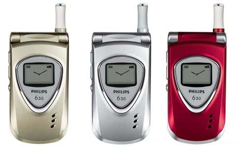 Обзор GSM-телефона Philips 630.