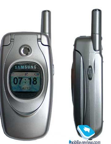 Класс: имиджевый Положение в линейке - равен над Samsung E100...