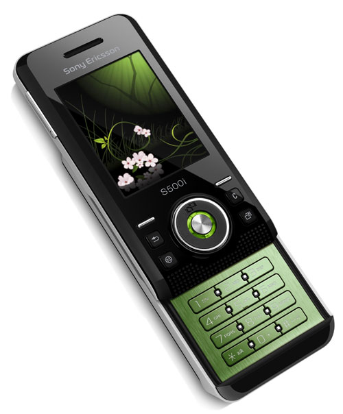Sony Ericsson S500 represents a 2.5G slider with 14 mm ...