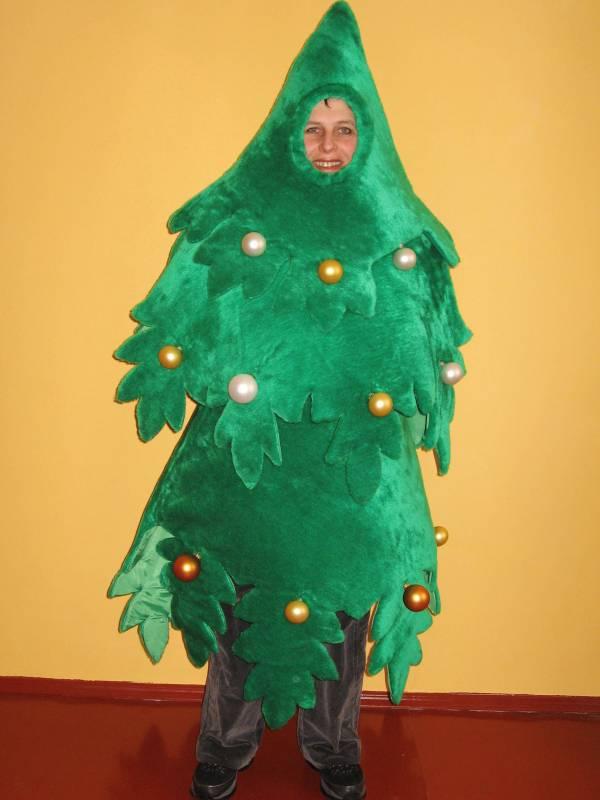 Как сделать костюм елки своими руками фото