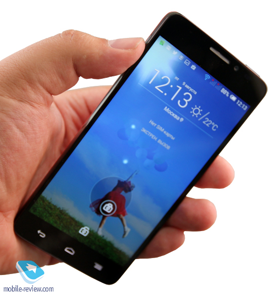 Смартфон Alcatel OneTouch Idol X (640D/6040)