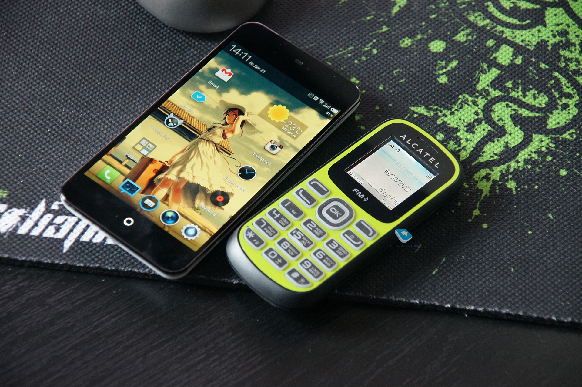alcatel one touch 232 инструкция