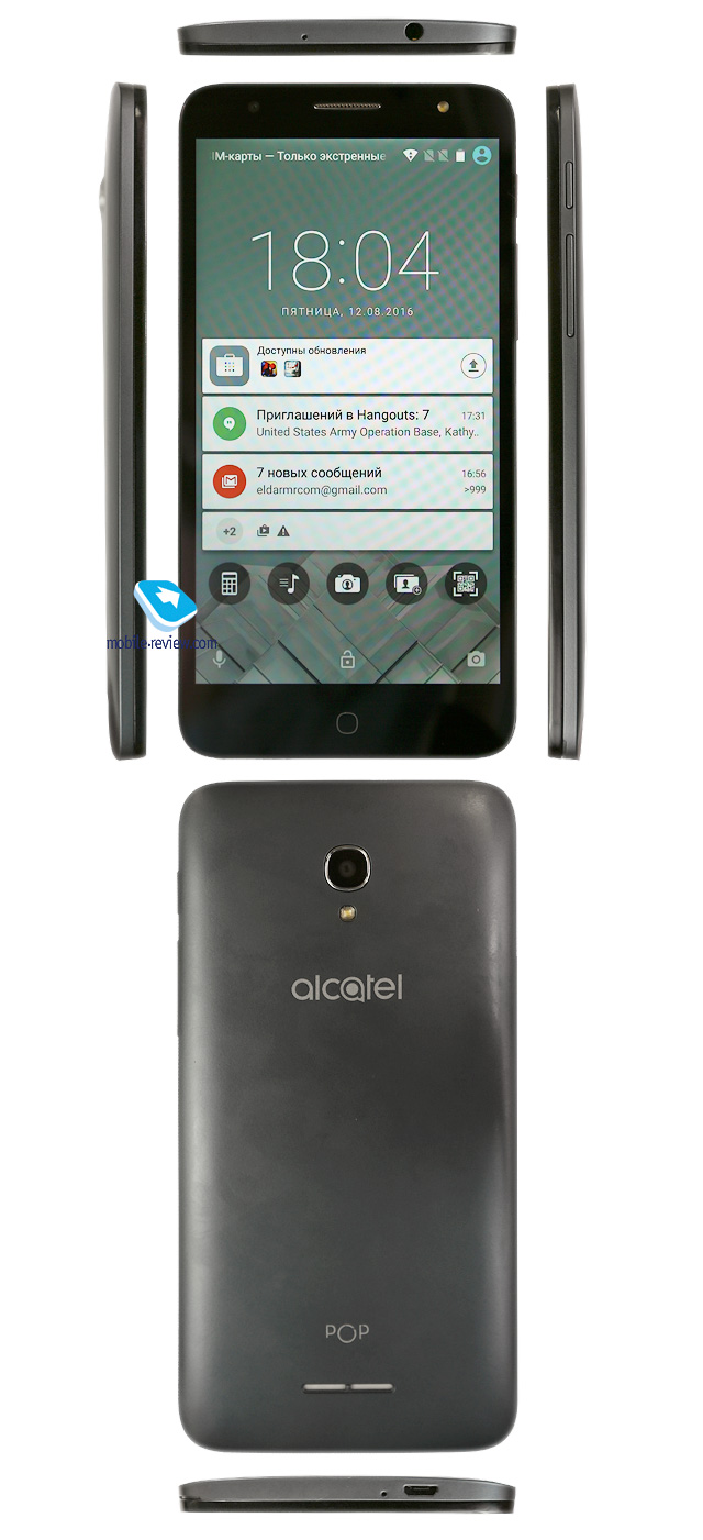 инструкция к смартфону alcatel pop 4 plus