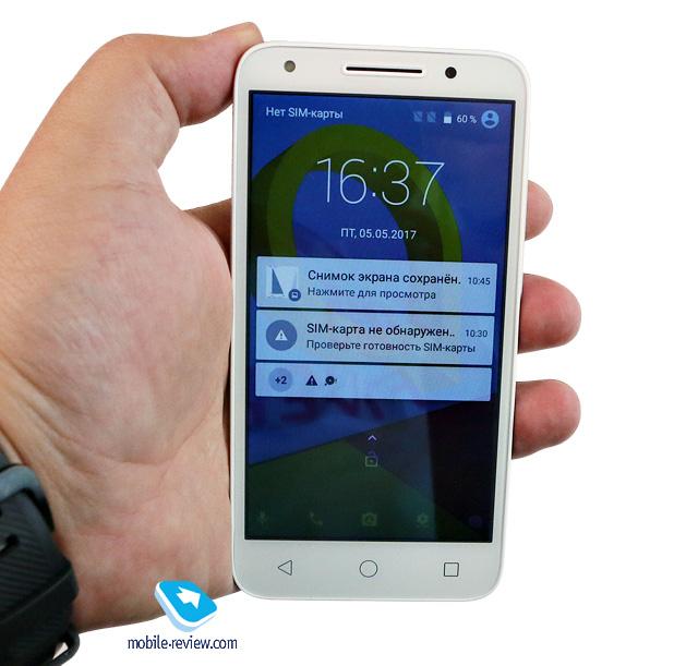 Обзор смартфона Alcatel U5 (5044D/4047D)