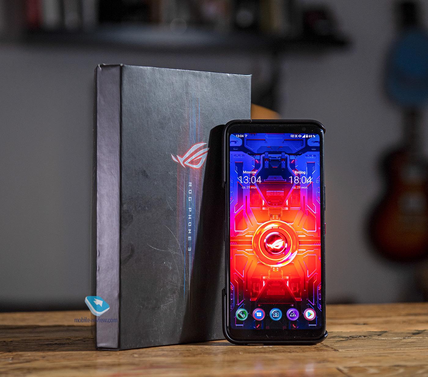 Игровой смартфон Asus ROG Phone 5 – новые находки в технологиях