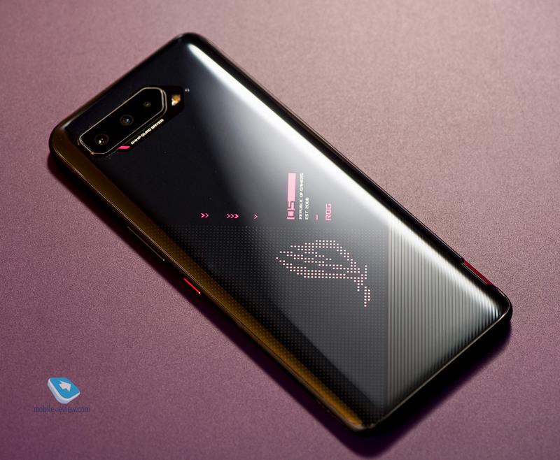 Обзор смартфона ASUS ROG Phone 5