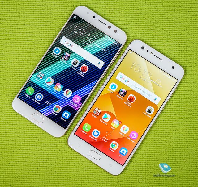 Обзор-сравнение ASUS ZenFone 4 Selfie и 4 Selfie Pro