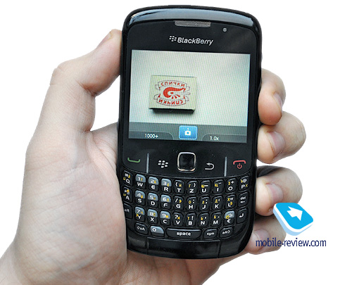 Mobile-review com Review of BlackBerry 8520 Curve
