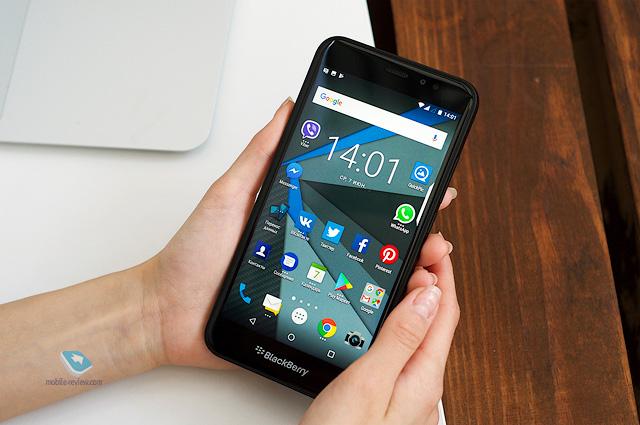 Обзор смартфона Blackberry Aurora (BBC100-1)
