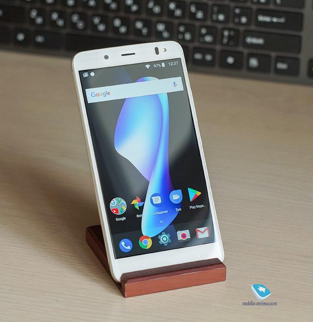 Обзор смартфона BQ Aquaris V Plus