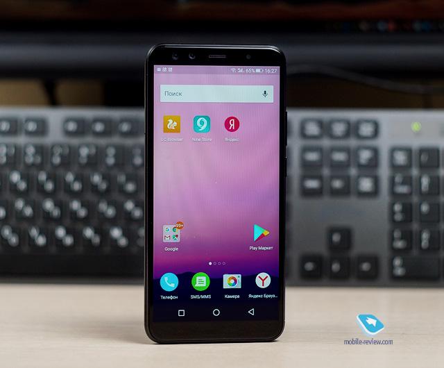 Обзор смартфона BQ-6000L Aurora