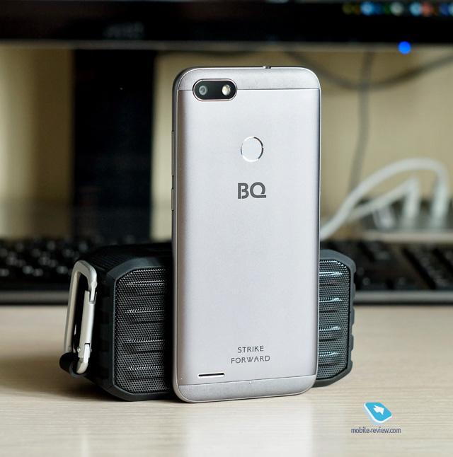 Обзор смартфона BQ Strike Forward (5512L)