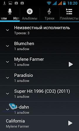 Лучшие аудиоплееры для Андроид - MyDiv net