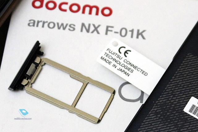 Mobile-review com Fujitsu ARROWS NX F-01K: современный