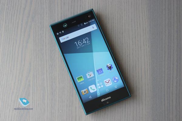 Обзор смартфона Fujitsu ARROWS NX Docomo F-02H