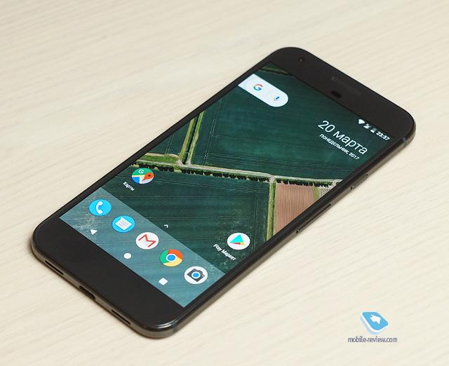 Обзор смартфона Google Pixel XL