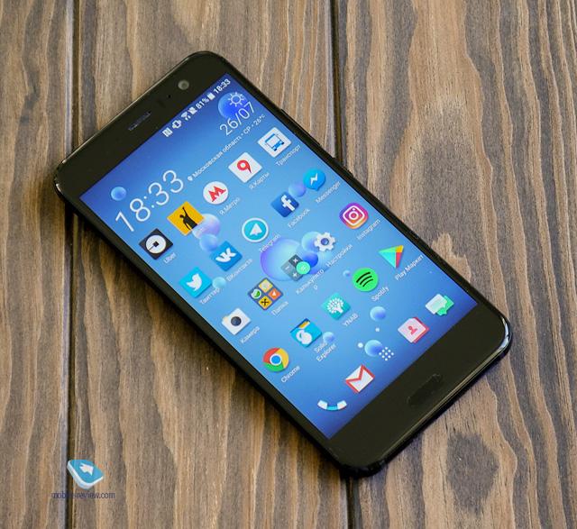 Обзор флагманского смартфона HTC U11